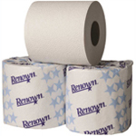 universal wrapped roll toilet paper