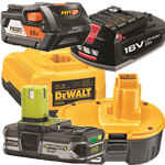 power tool batteries & chargers