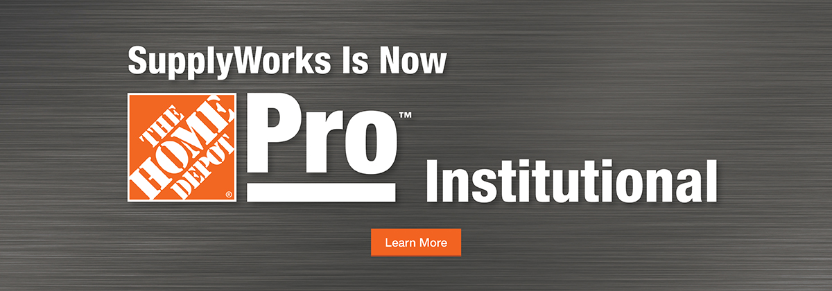 SupplyWorks is now Home Depot Pro Institutional