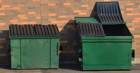 Destroy Dumpster Odors at Their Source